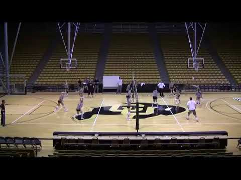 Colorado University Volleyball 3 Before 2 Drill