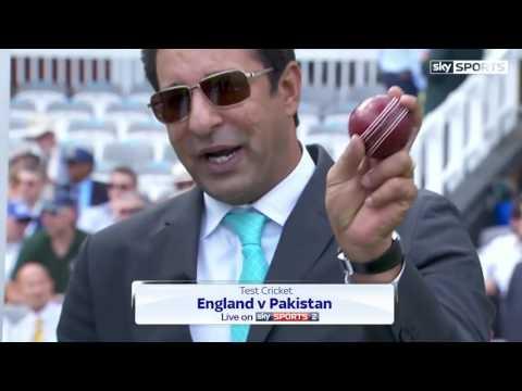 Wasim Akram on Muhammad Amir Bowling Technique England v Pakistan 1st Test 2016