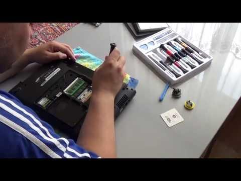 как разобрать и собрать ноутбук самсунг R425