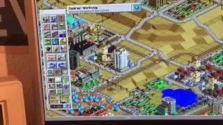SimCity 2000 Amiga AGA Demo Speedtest