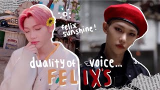 Download the duality of lee felix's voice Mp3/Mp4