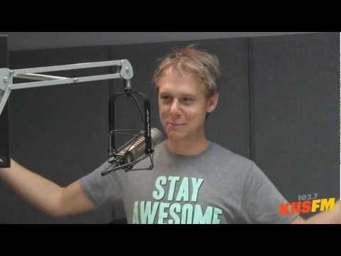 Armin van Buuren Exclusive Interview