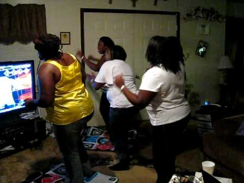 Momma And Aunties Dance Revolution 3 video