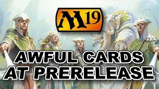 MTG - Advanced M19 Prerelease Guide - Cards to AVOID and Dragon Interactions!