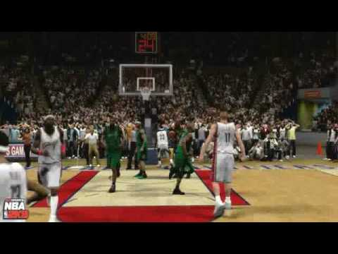 nba 2k9 - lebron james with no regard for human life