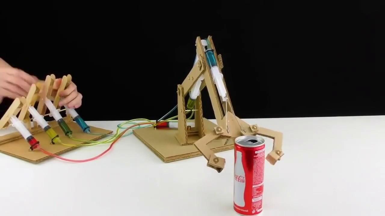 Как сделать из картона кран