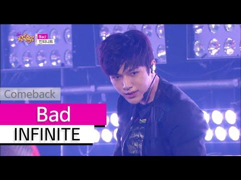 [Comeback Stage] INFINITE - Bad, 인피니트 - 베드, Show Music core 20150718