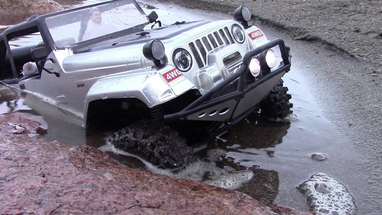 Rc Trail Extreme Deep Water Trail Jeep Wrangler Rubicon