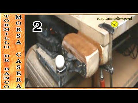 Prensa de banco carpintero