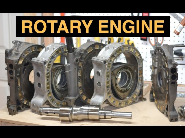 How Rotary Engines Work - Mazda RX-7 Wankel - Detailed ...