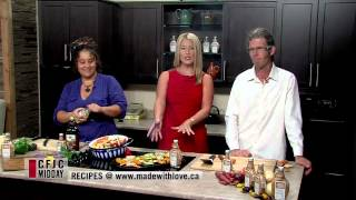Red Pepper Grilled Vegetables - Easy Real Whole Food Fast - CFJC Midday - Made With Love HD