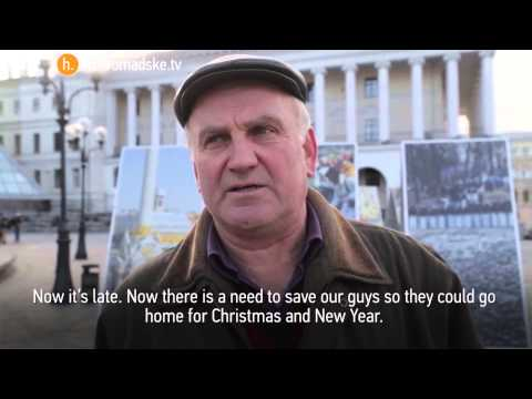Vox Pop: Ukrainians on the ceasefire in the east.