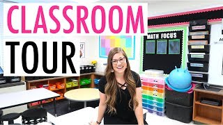 CLASSROOM TOUR | Behind the Scenes Look At My Classroom