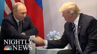 Trump Arrives In Helsinki Ahead Of Putin Summit | NBC Nightly News