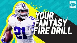 All Your Week 1 Fantasy Football Questions Answered | Your Fantasy Fire Drill