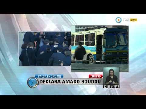 Visión 7 - Causa ex Ciccone: Declara Amado Boudou (2 de 2)