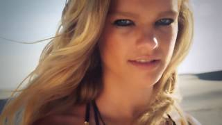 Valerie Van Der Graaf Wears Nothing But A Scarf | Intimates | Sports Illustrated Swimsuit