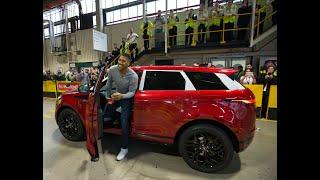 Anthony Joshua Surprises Employees at Jaguar Land Rover