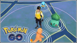 Pokémon Go - CAPTURANDO A MI INICIAL DE KANTO :D