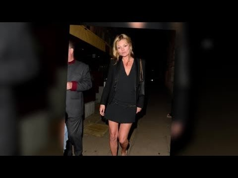 Kate Moss Set to Pose Topless For Playboy Magazine - Splash News