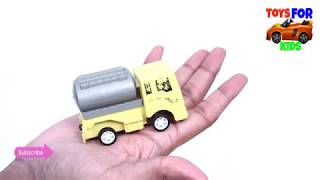 Truck Toy Review ! Top Funny Finger Family Nursery Rhymes ! Best 4k 2019 Truck Toys for kids videos
