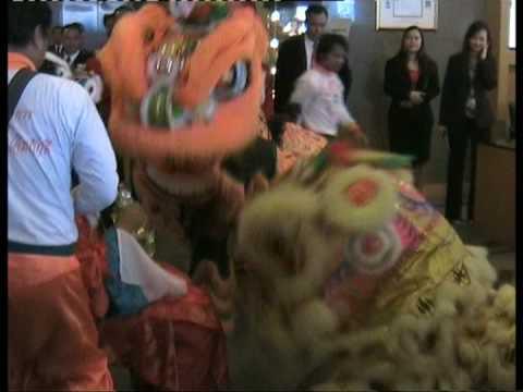 Novotel Siam Square. Bangkok (Lion Dance)