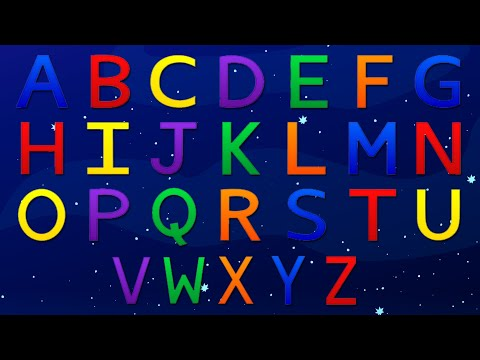 Alphabet Song video