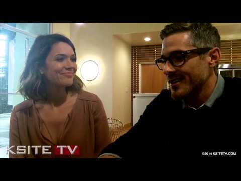 Mandy Moore & Dave Annable - Red Band Society Interview