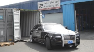 EXPORTING A ROLLS ROYCE TO INDIA| DUBAI-INDIA |HOW TO EXPORT|