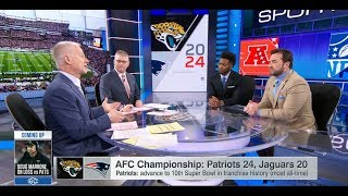 Patriots vs Jaguars AFC Championship Postgame Analysis | Jan 21, 2018