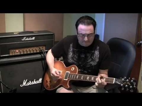 Brand New Gibson Les Paul Standard 2012 sound test (Part 2 of 3)