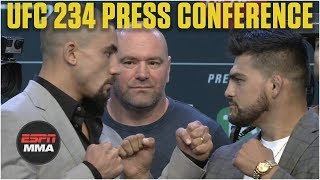 UFC 234 Press Conference | Whittaker vs. Gastelum, Silva vs. Adesanya [FULL] | ESPN MMA