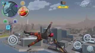 Gangstar Vegas - Motorcycle Stunt / Fails Montage #1