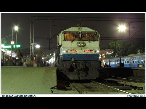 118. IRFCA: Bangalore Rajdhani Express Full Journey Compilation Part 2- Nagpur to Secunderabad