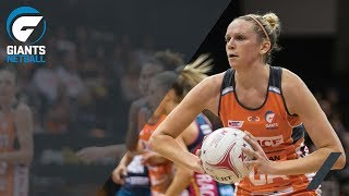 GIANTS Netball / Jo Harten hits 100 Elite Games