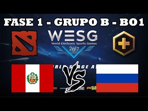 DOTA 2 EN VIVO - Perú vs Rusia Fase 1 Grupo B WESG 2017