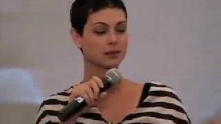 Morena Baccarin on stage at Serenity Convention 2007