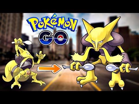 Pokemon Go / Покемон Го ► Эволюция покемона Kadabra ◓ Alakazam ► IV канкулятор ► #48