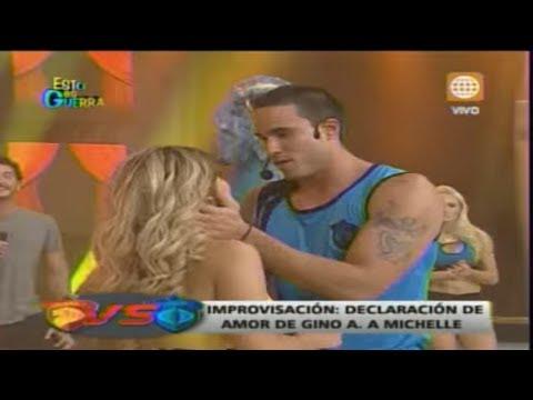 Esto es Guerra: Gino Assereto le declara su amor a Michelle - 11/06/2013