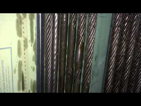 Elevator Upgrade Part 8 Reroping 875 ft of Elevator Hoist Rope #2(B) DIRTY calling Mike Rowe