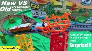 New Versus Old Thomas & Friends Trackmaster Trains - Avalanche Escape Set