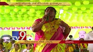 TDP groups fight for Market yard prime post  in Chintalapudi