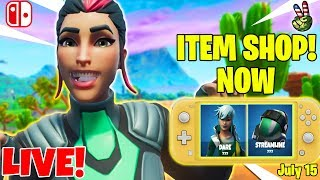 Fortnite Switch Player! // ITEM SHOP JULY 15, 2019 // (Fortnite Battle Royale LIVE)