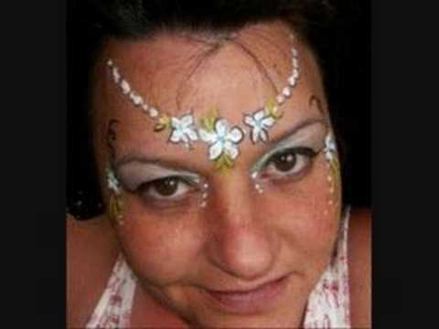 Fairy Face Paint - Fairy Halloween Makeup