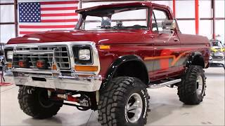 1979 Ford Bronco Burgundy