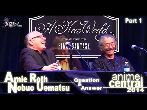 Nobuo Uematsu And Arnie Roth   Acen 2014 Q&a Part 1 video