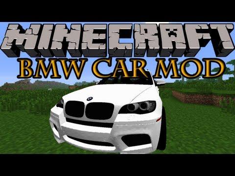 Minecraft Mods - BMW CAR MOD! RIDE WITH STYLE! [1.7.2]