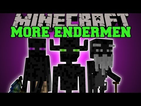 Minecraft: MORE ENDERMEN TRADING STRUCTURES MYSTIC WANDS Farlanders Mod Showcase