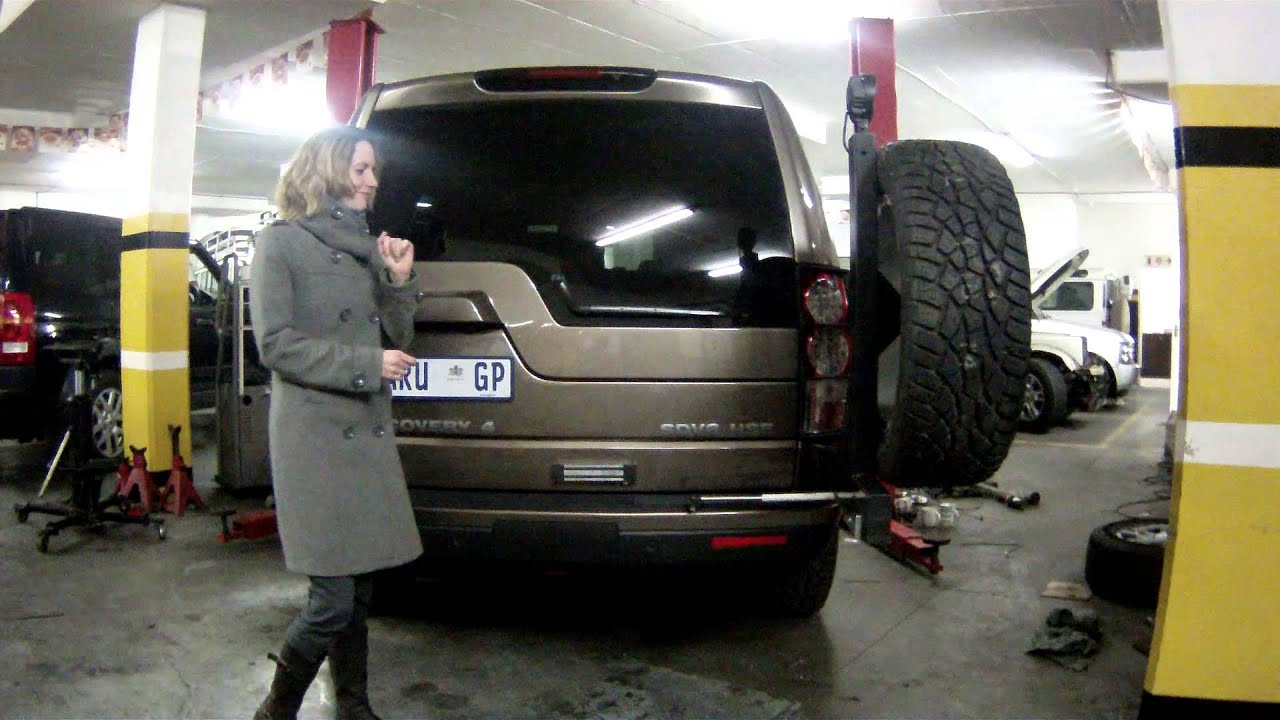 Land Rover Discovery 3 4 Dynamic Wheel Carrier Youtube