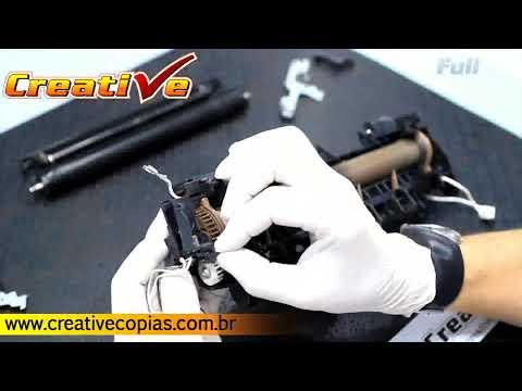 Vídeo Aula da Manutenção Na Multifuncional Brother dos Modelos DCP8080 e DCP8085